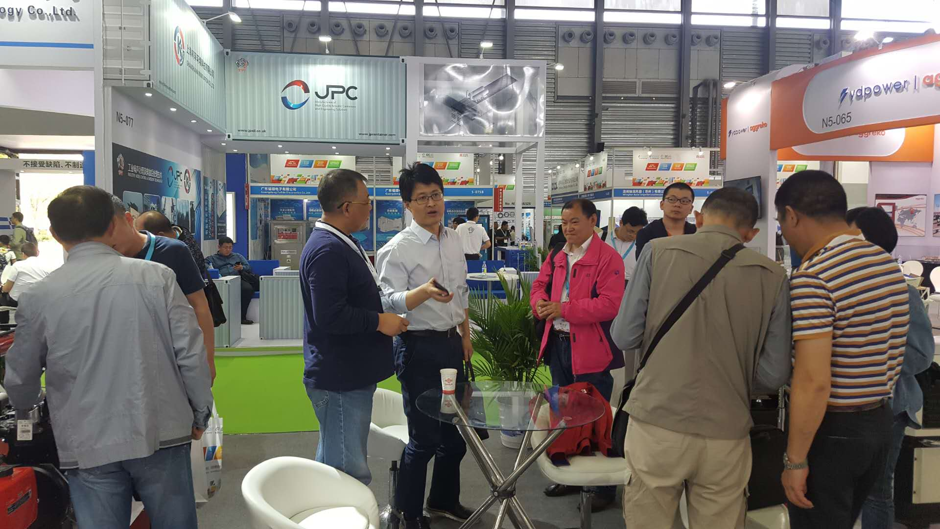 常柴公司参加第十七届上海动力展